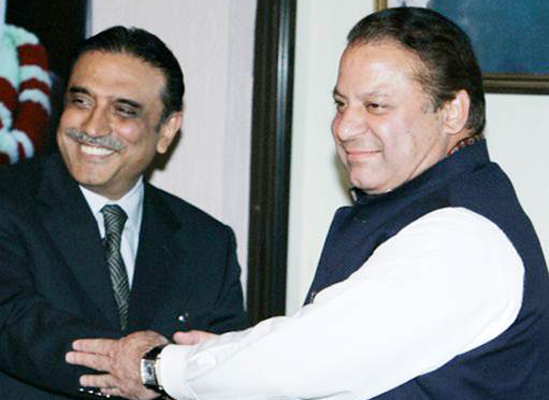 The new government structure does not include the PML-N and PPP