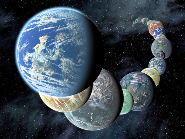 Of the new discovery planes, 10 planets are equal to earth
