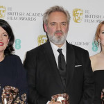 "Producer Pippa Harris, director Sam Mendes and co-screenwriter Krysty Wilson winners of the o British film award for ""1917"