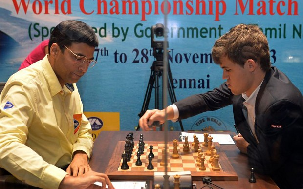 Carlsen won the match in Chennai, India