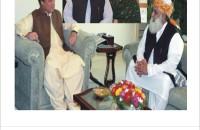 Nawaz Sharif, Mary Nawaz and Maulana Fazal ur Rehman