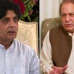 Nawaz Shraif and Chaudhry Nisar Ali Khan