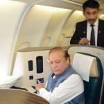 Nawaz Sharif leaves for London in air ambulance for treatment