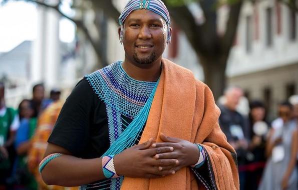 Nelson Mandela's grandson, Mandla Mandela