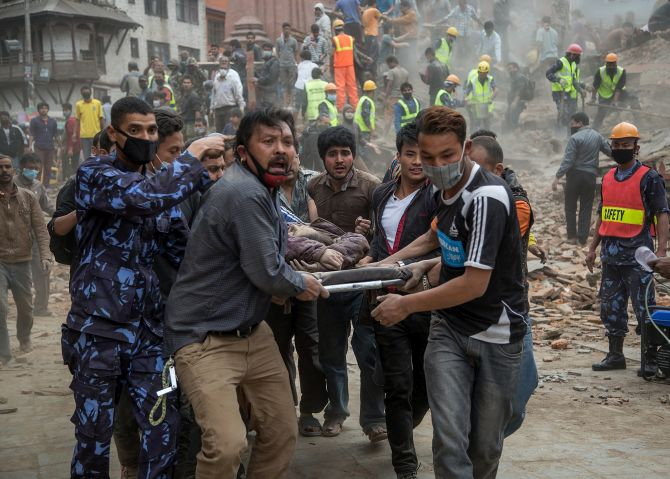 Nepali Prime Minister made 10 thousand casualties feared