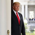 From the White House, Trump began packing