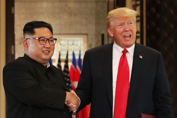 It is clear that before the US President Trump has held two meetings with the North Korean President