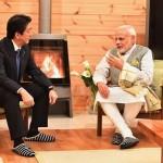 Prime Minister Narendra Modi and Prime Minister Japan Shinzo Abe