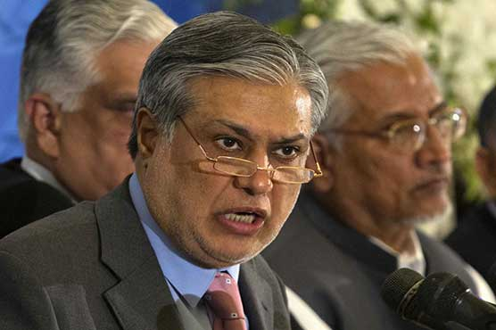 Federal Finance Minister Ishaq Dar