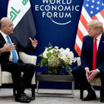 Trump meets Iraqi counterpart Barham Salih, agrees not to remove US troops