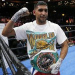 Pakistani-born British boxer Amir Khan