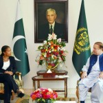 Pakistani Prime Minister Nawaz Sharif and US National Security Advisor Susan Rice