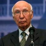 Pakistan Foreign Minister Sartaj Aziz Advisor