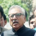 Former President of Pakistan Arif Alvi