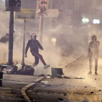 More than 240 people arrested for participating in clashes with police and violent protests