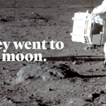 For the first time in 1947, Bill Kaysing's book We Never Went to the Moon or Man Never went to the Moon