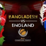 First match England and Bangladesh teams will be competing in the Oval