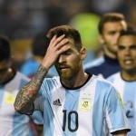 After the draw match against Peru, the Argentina is worried out of World Cup 2018