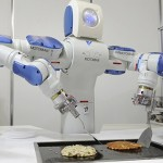 Pancake master cooks usually make the pancake , but now robots will replace them