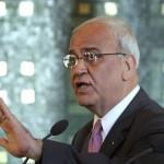 Senior Palestinian negotiator Saeb Erekat