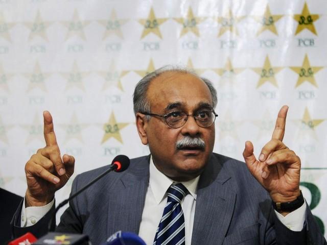 PCB Chairman Najam Sethi