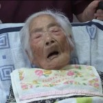A respected honorable World's oldest japanese Woman Nabi Tajima