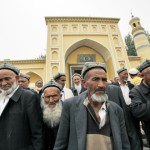 The Chinese government banned the wearing veils and beard in Xinjiang