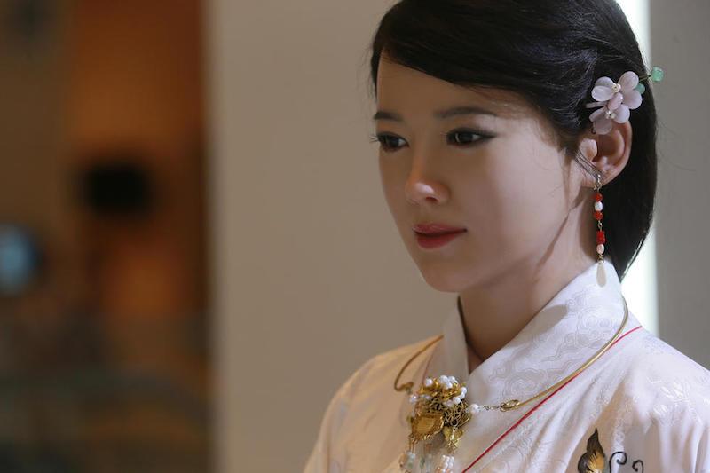 Chinese robot  Jia Jia