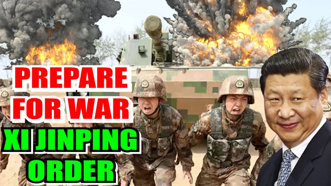 Chinese troops should be ready for war at all times, President Xi Jinping's order issued