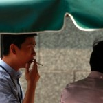 Public places in China, a ban on smoking in offices and public transport