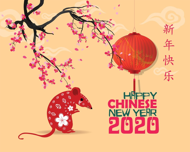 China's New Year will be celebrated on January 25, also known as the Year of the Mice
