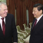 China's President Xi Jinping and President of Czech Republic Milos Zeman