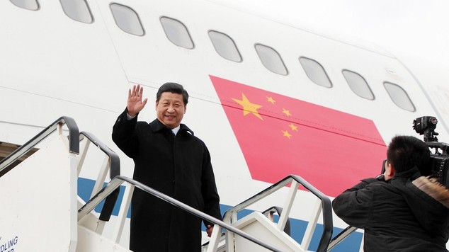 China's President Xi Jinping today's 5-day visit to the UK are starting