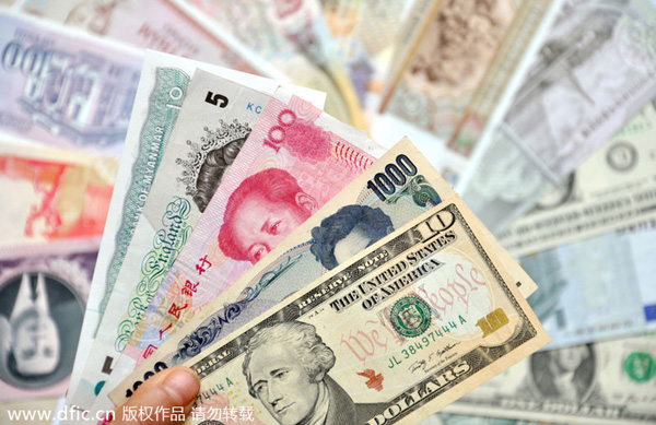 Challenge of dollars, yuan and euro directly between trading