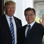 The Donald Trump telephonic conversation with South Korean President Moon-Jae-In