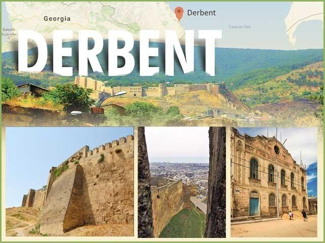 Derbent's most ancient city of Russia