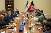 Meeting with senior security officials of Iran and Afghanistan in Kabul