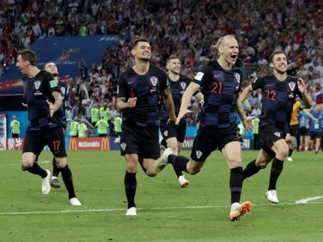 Croatia reaches World Cup final for the first time, beats England