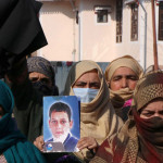 Families of youth killed in fake encounter hold protest in Kashmir