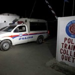 Suicide attack on a police training center in Quetta, 59 killed, 120 injured
