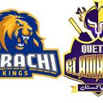 Quetta Gladiators Vs Karachi Kings will match today PSL today match