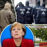 German Chancellor Angela Merke increased violence after opening the doors to immigrants