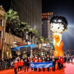 The annual Hollywood Christmas Parade was held in California