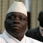Former Gambia's president, Yahya Jammeh