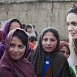 American actor and United Nations special envoy Angelina Jolie