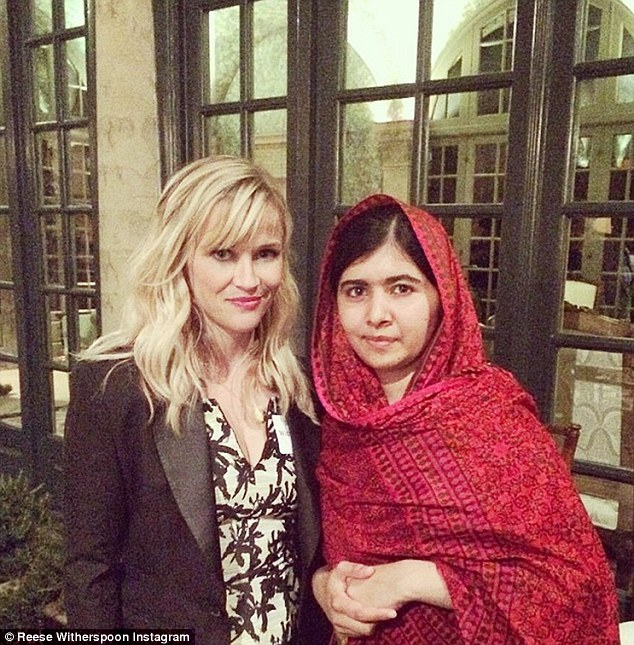 Hollywood actress Reese Witherspoon made the Malala role