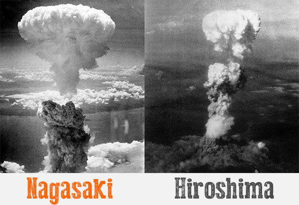 Atom bomb attack on Hiroshima and Nagasaki was the day of August 6, 1945