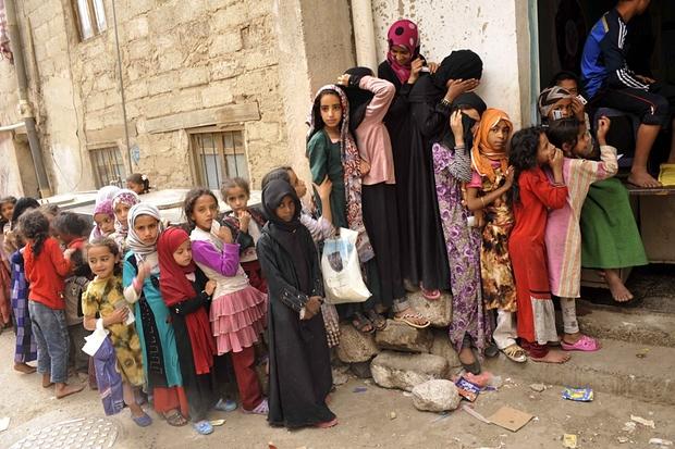More than half of Yemen's population is facing food crisis