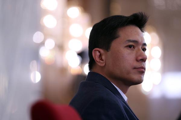 Ma Huateng of Chinese Tencent Company chairman