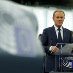 Donald Tusk's final report present of the European Parliament